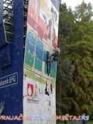 Veštačka stena u parku -   Vrnjačka Banja