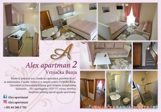 Apartman ALEX 2 - apartmani u Vrnjačkoj Banji