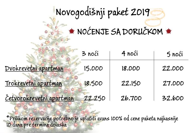 Apartmani Mavesa - Doček Nove godine u Vrnjačkoj Banji