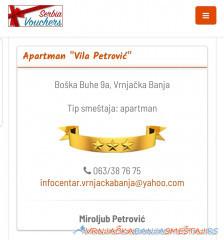 Vila Petrović - Vrnjačka Banja Apartmani