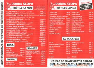 Restoran i Fast food DOBRA KLOPA -   Vrnjačka Banja Restorani