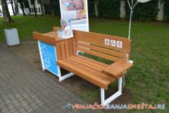 Klupa za dojenje i presvlačenje beba u Vrnjačkoj Banji - Vrnjačka Banja