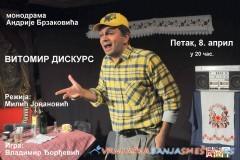 Monodrama  VITOMIR DISKURS - Vrnjačka Banja vesti