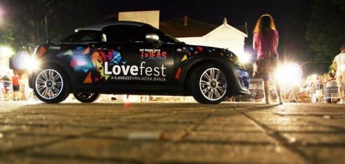 Promocija Love festivala u Vrnjačkoj Banji - Vrnjačka Banja